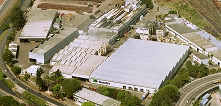 Foto das operações da Duratex S.A. Indústria e Comércio