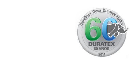 Selo Duratex 60 anos
